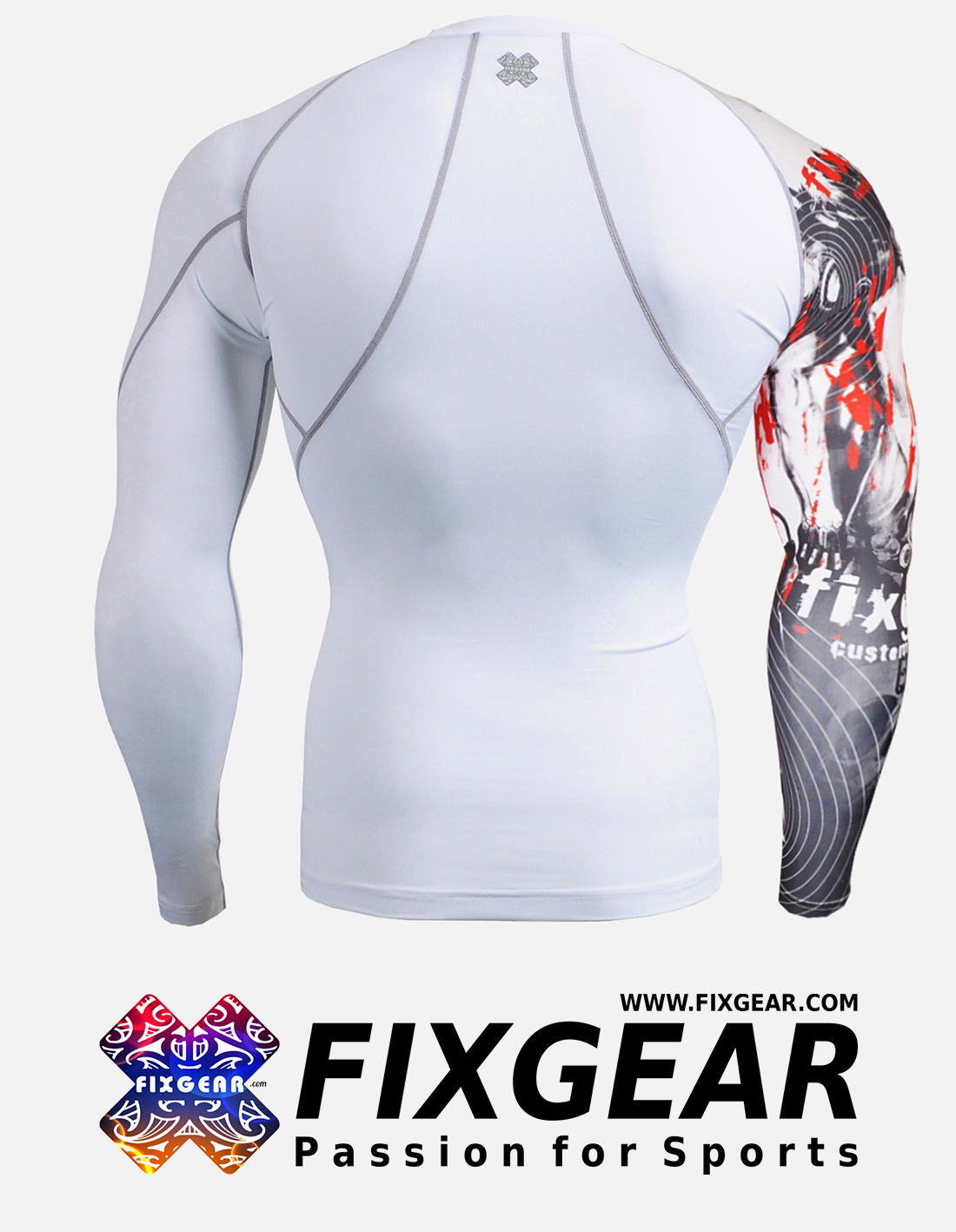 FIXGEAR CP-W30 Compression Base Layer Shirt