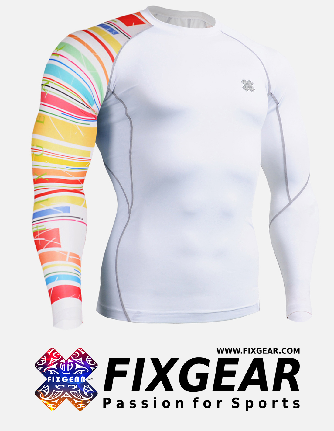 FIXGEAR CP-W33 Compression Base Layer Shirt