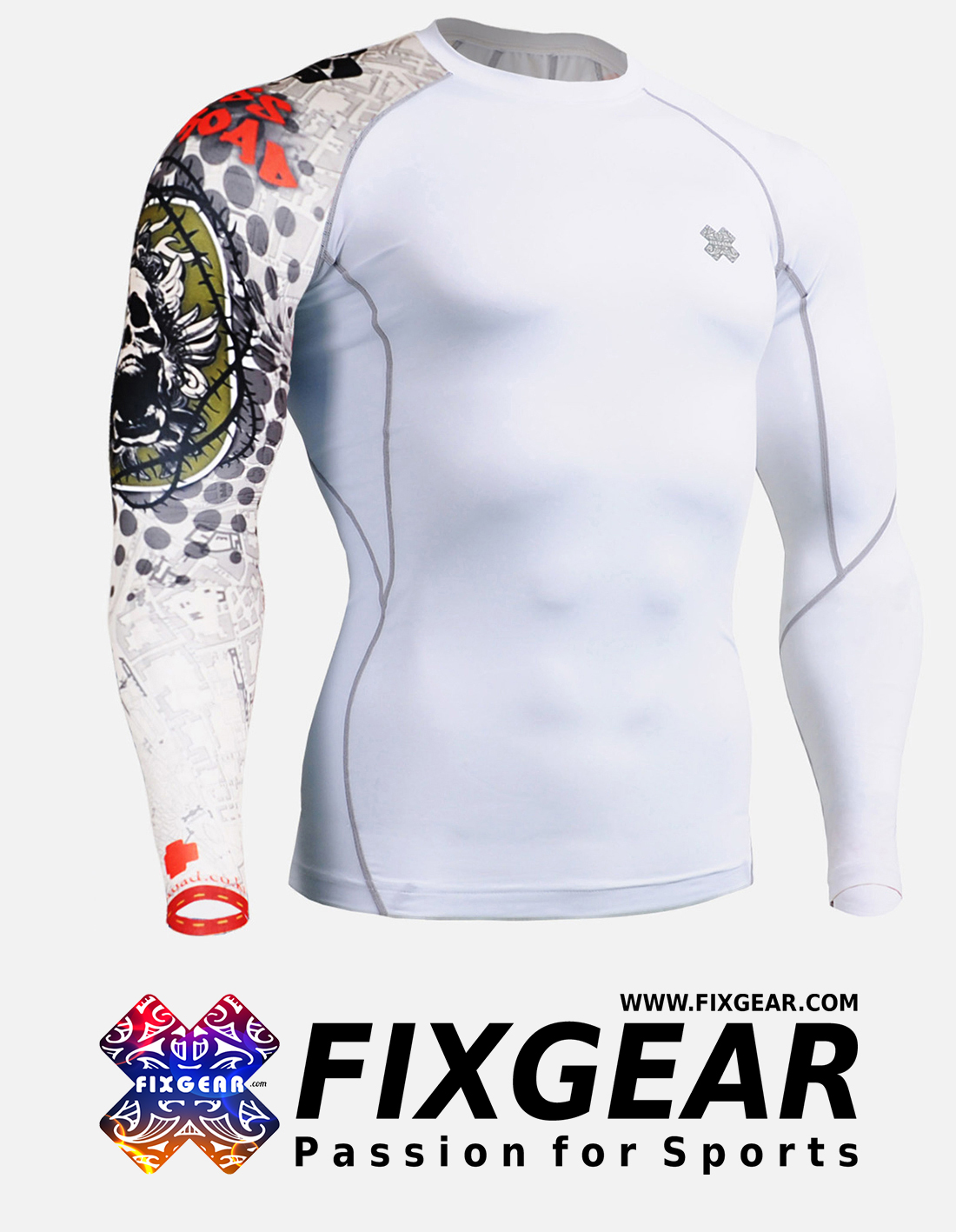 FIXGEAR CP-W5 Compression Base Layer Shirt