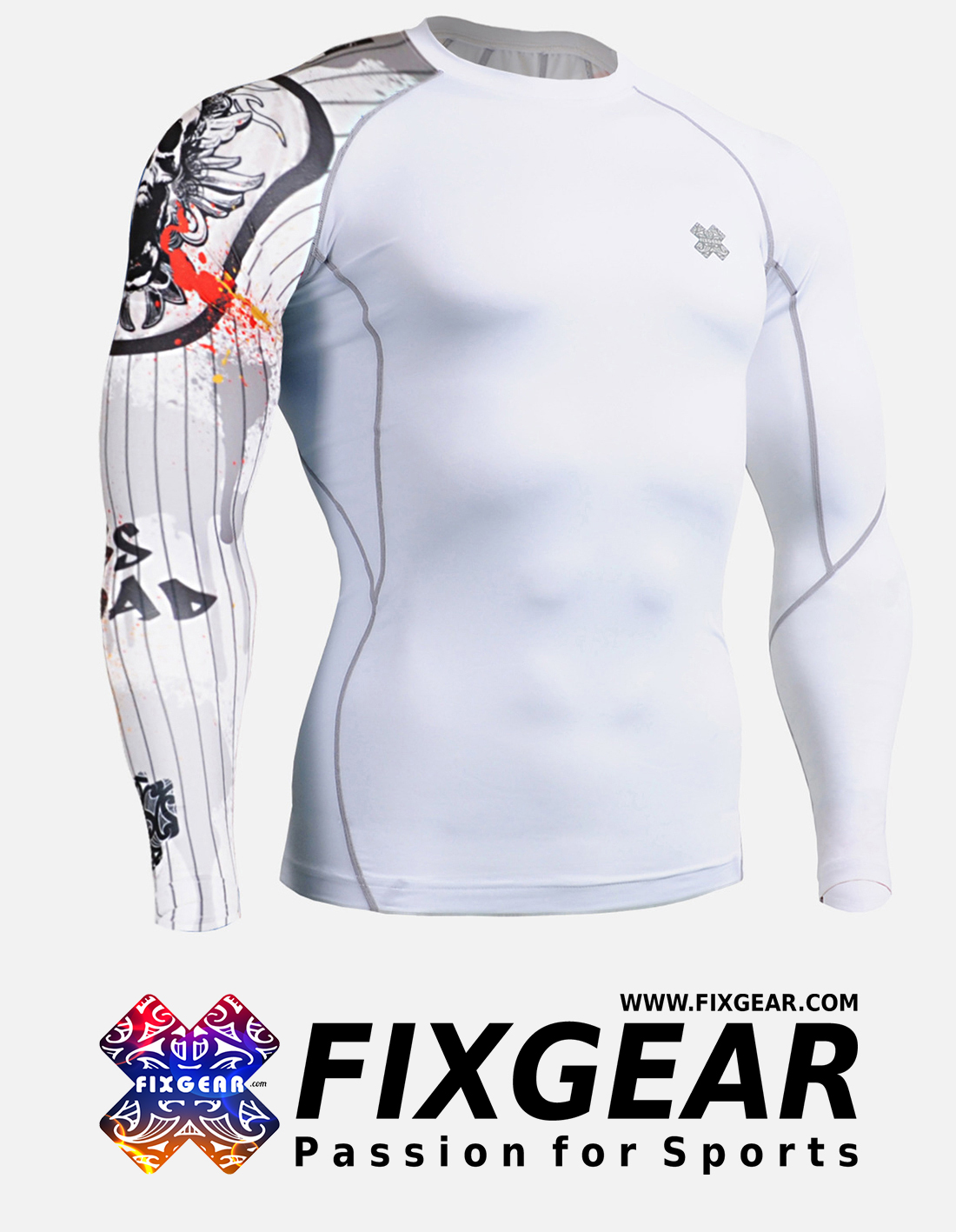 FIXGEAR CP-W9 Compression Base Layer Shirt