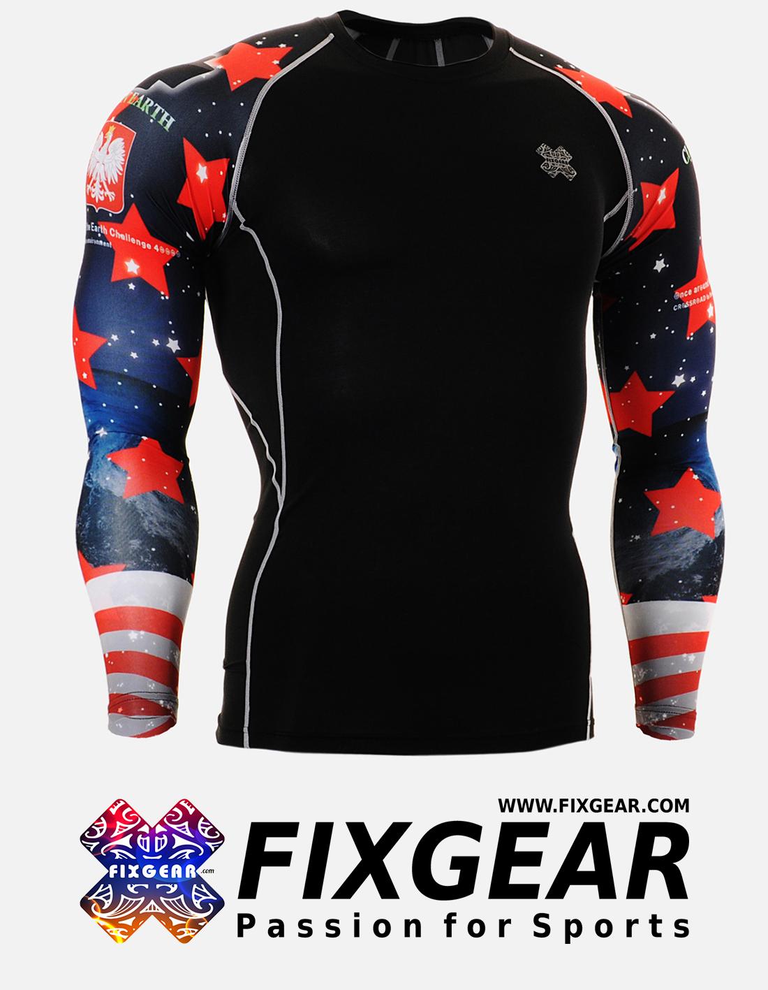 FIXGEAR CPD-B10 Compression Base Layer Shirt