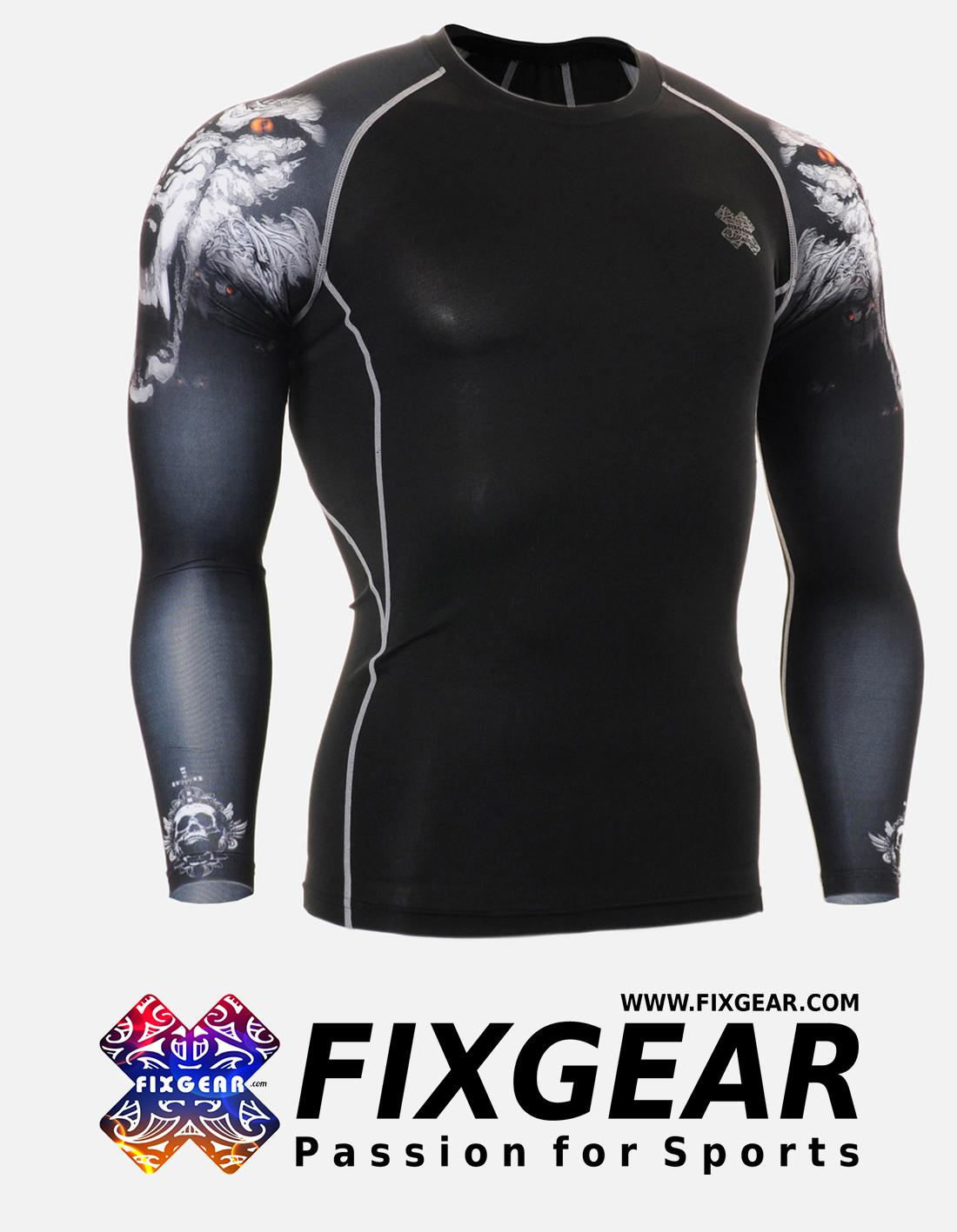 FIXGEAR CPD-B18 Compression Base Layer Shirt