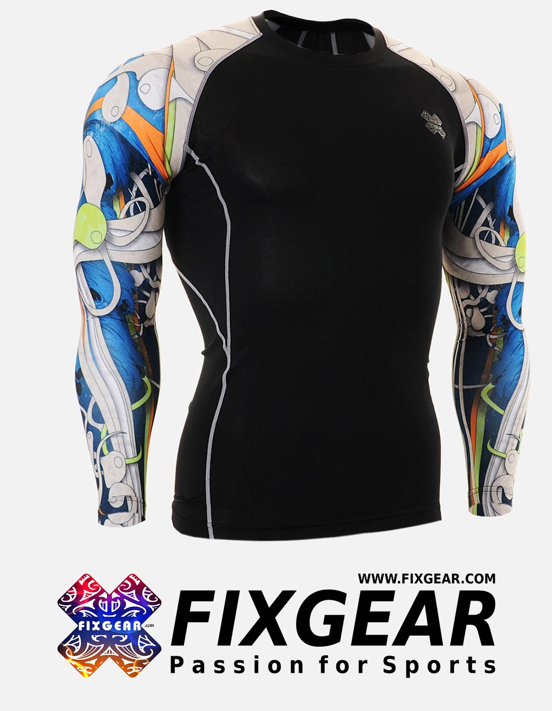 FIXGEAR CPD-B19B Compression Base Layer Shirt