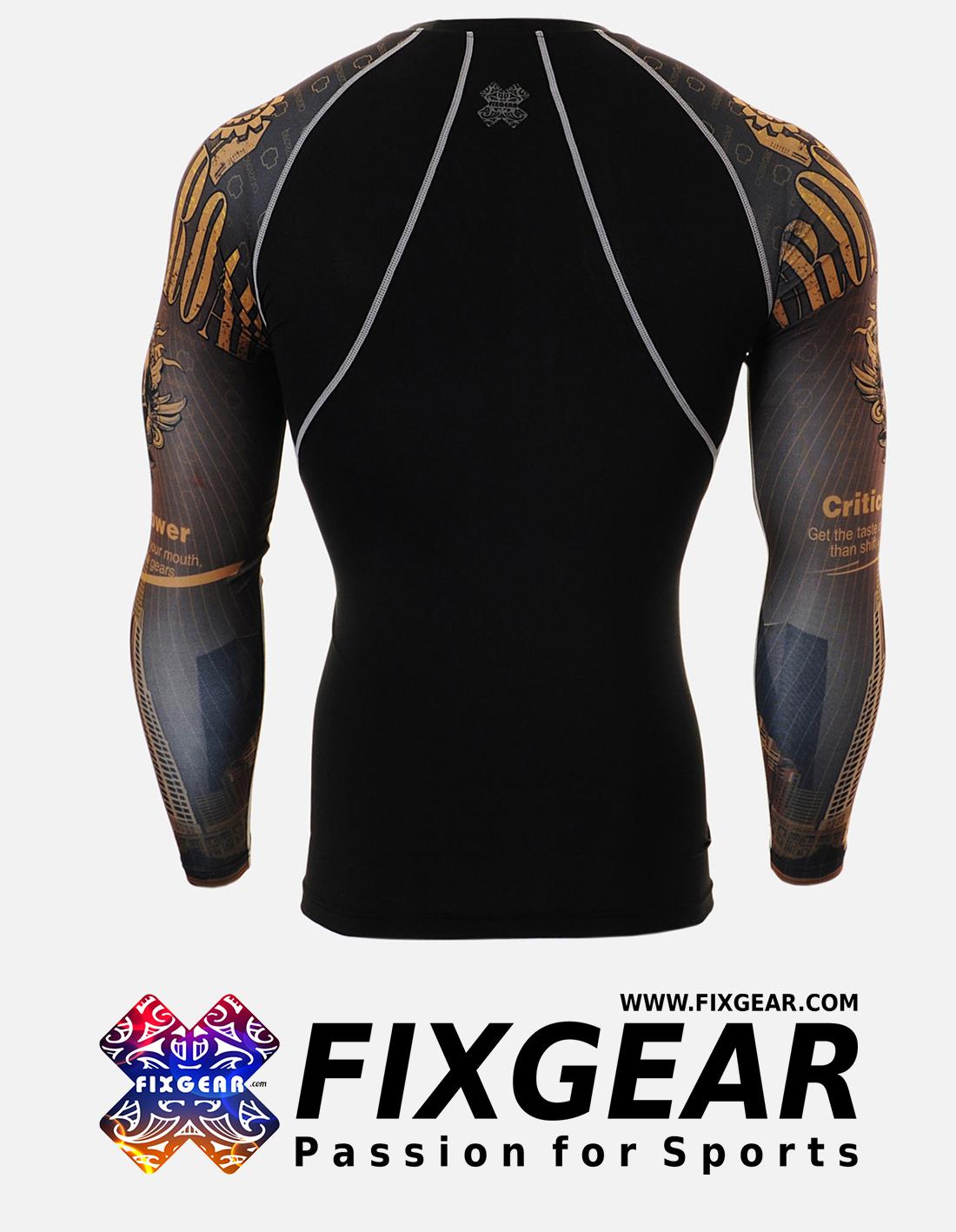FIXGEAR CPD-B27 Compression Base Layer Shirt