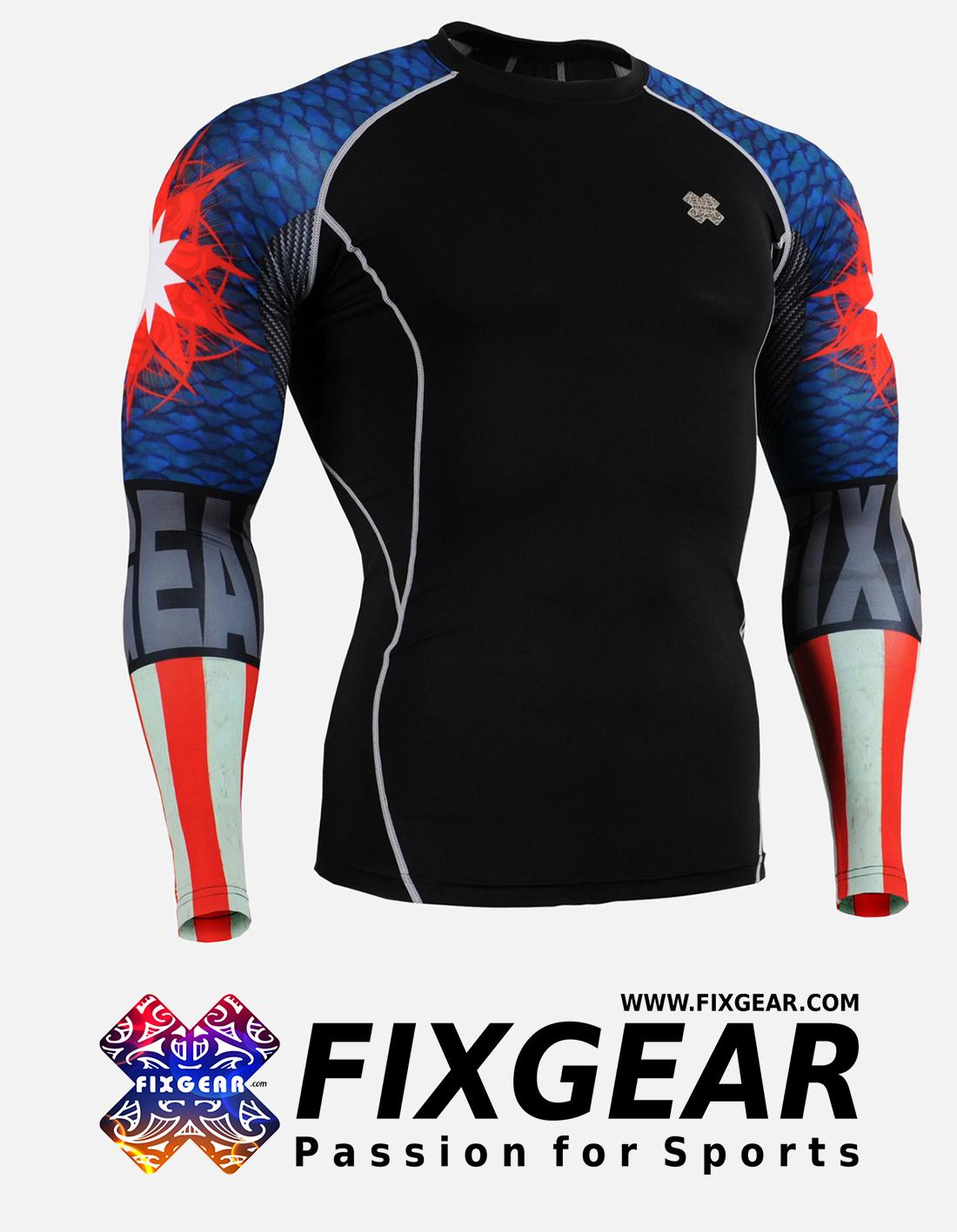 FIXGEAR CPD-B37 Compression Base Layer Shirt
