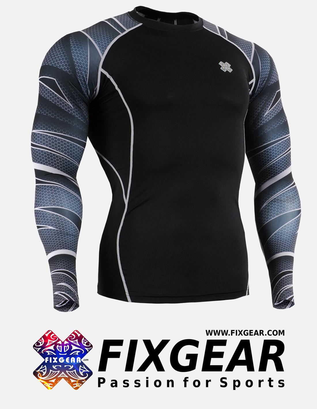 FIXGEAR CPD-B63 Compression Base Layer Shirt