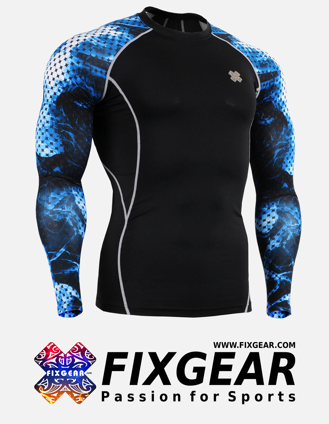 FIXGEAR CPD-B66 Compression Base Layer Shirt
