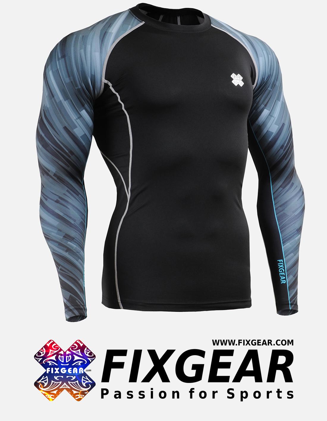 FIXGEAR CPD-B67 Compression Base Layer Shirt