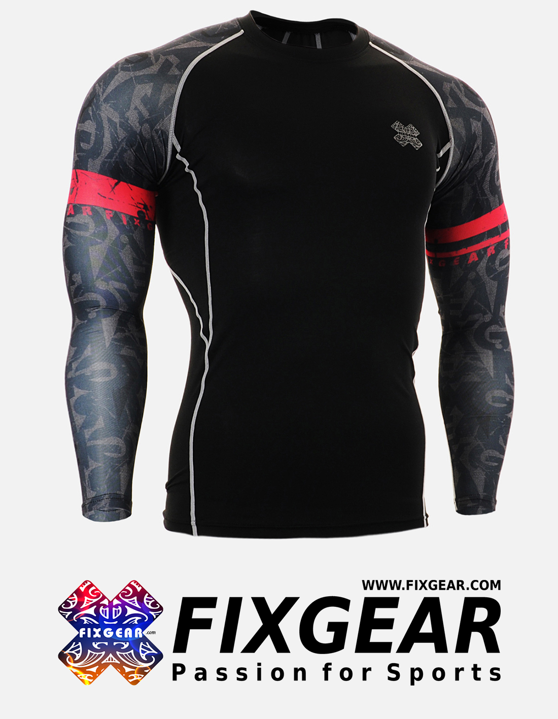 FIXGEAR CPD-BG6 Compression Base Layer Shirt