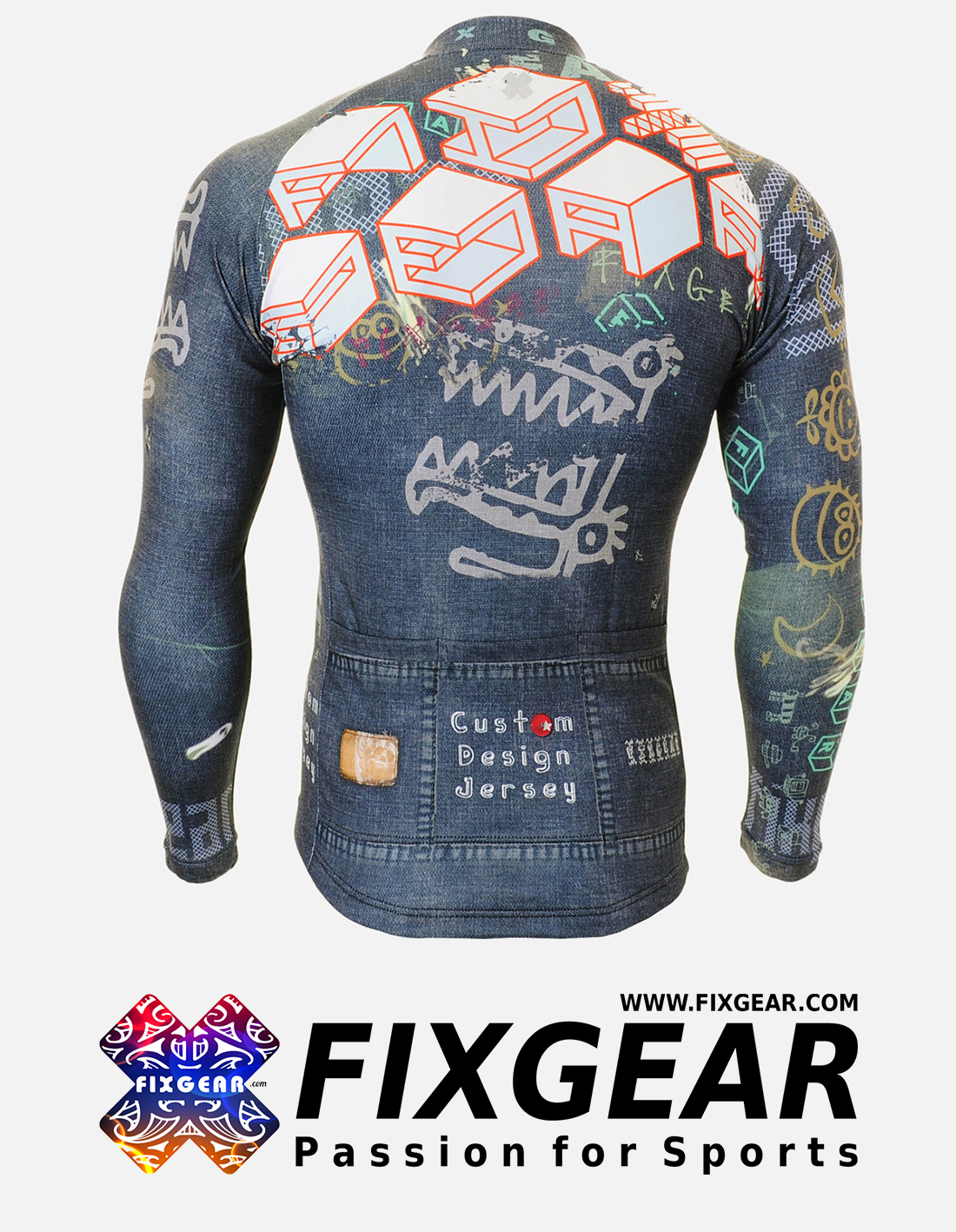 FIXGEAR CS-1501 Men's Cycling  Jersey Long Sleeve