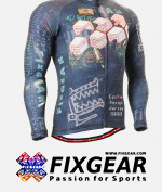 FIXGEAR CS-1501 Men's Cycling  Jersey Long Sleeve