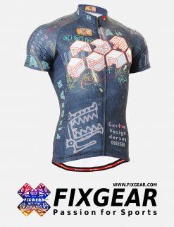 FIXGEAR CS-1502 Men's Cycling  Jersey Short Sleeve