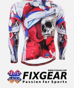 FIXGEAR CS-19R1 Men's Cycling  Jersey Long Sleeve