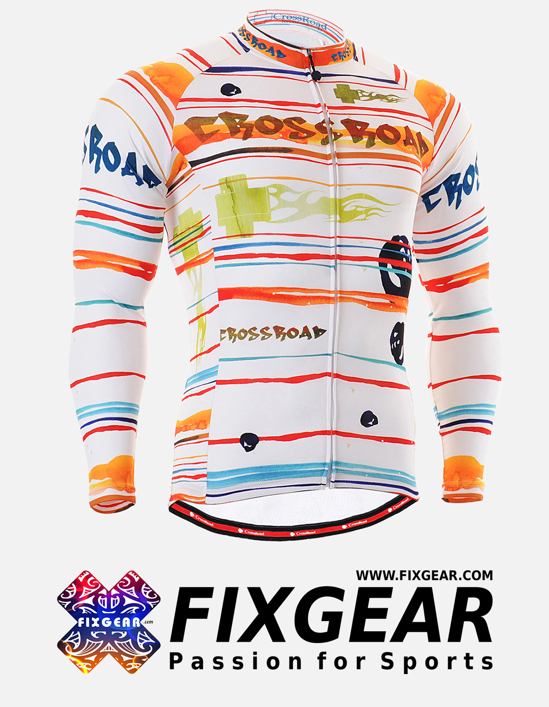 FIXGEAR CS-2001 Men's Cycling  Jersey Long Sleeve
