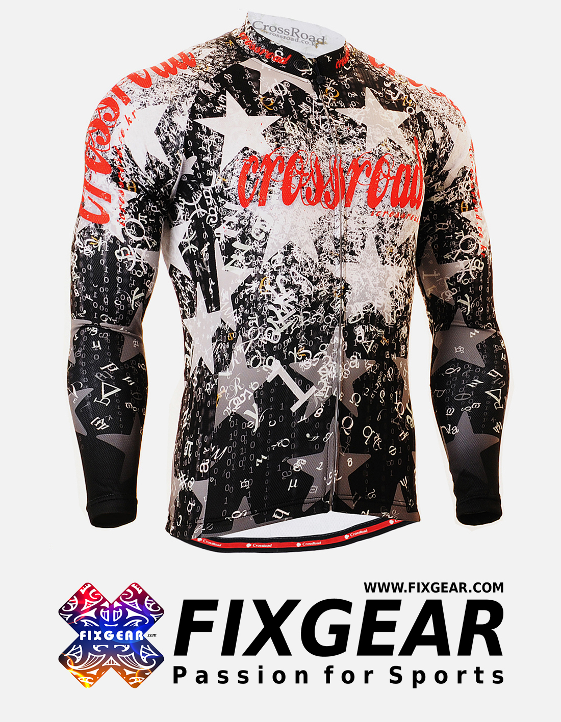 FIXGEAR CS-2401 Men's Cycling  Jersey Long Sleeve