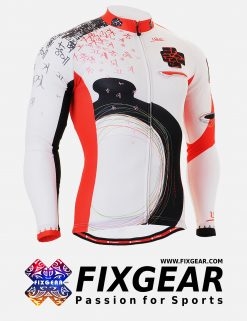 FIXGEAR CS-2501 Men's Cycling  Jersey Long Sleeve