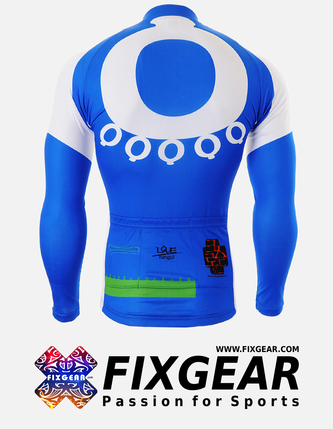 FIXGEAR CS-2601 Men's Cycling  Jersey Long Sleeve