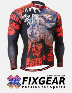 FIXGEAR CS-2801 Men's Cycling  Jersey Long Sleeve