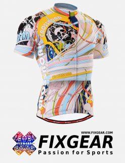 FIXGEAR CS-302 Men's Cycling  Jersey Short Sleeve
