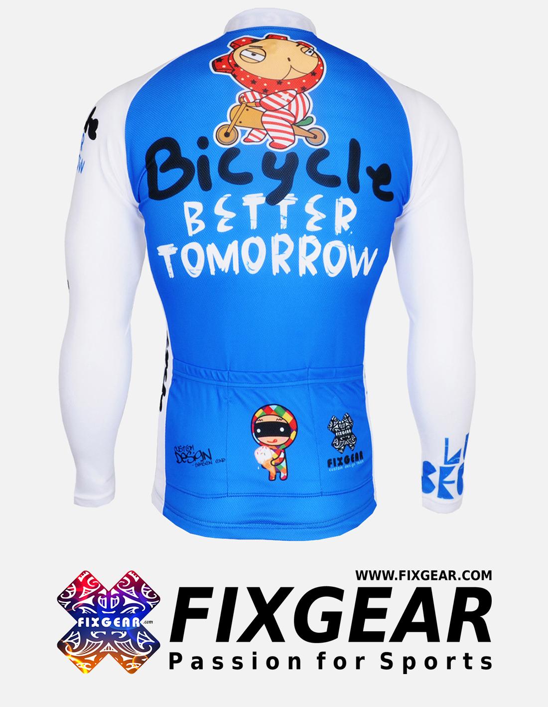 FIXGEAR CS-31B1 Men's Cycling  Jersey Long Sleeve