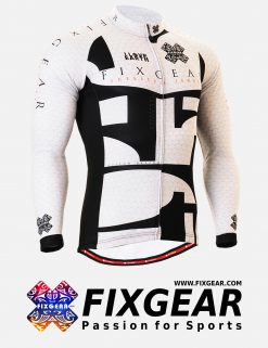 FIXGEAR CS-3401 Men's Cycling  Jersey Long Sleeve