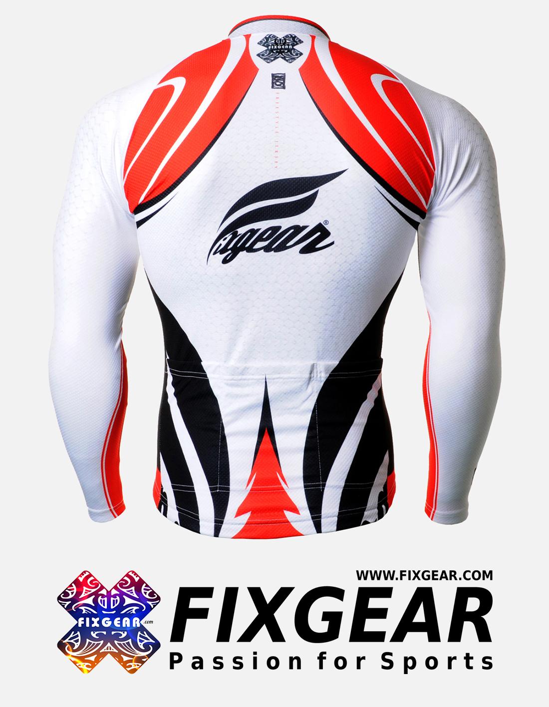 FIXGEAR CS-3601 Men's Cycling  Jersey Long Sleeve