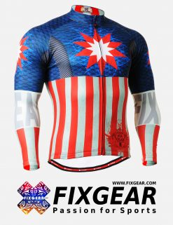 FIXGEAR CS-3701 Men's Cycling  Jersey Long Sleeve