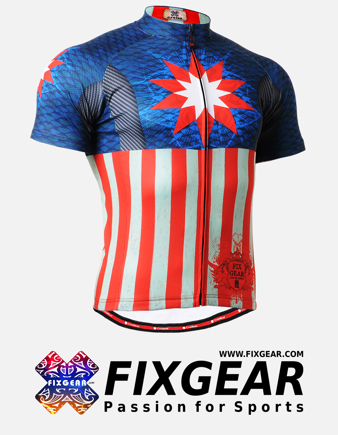 FIXGEAR CS-3702 Men s Cycling Jersey Short Sleeve - FixGear.com 35aabd5f1