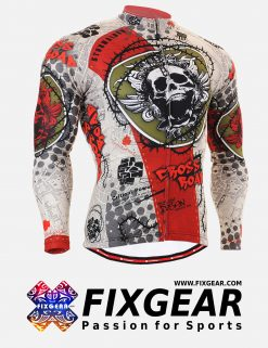FIXGEAR CS-501 Men's Cycling  Jersey Long Sleeve