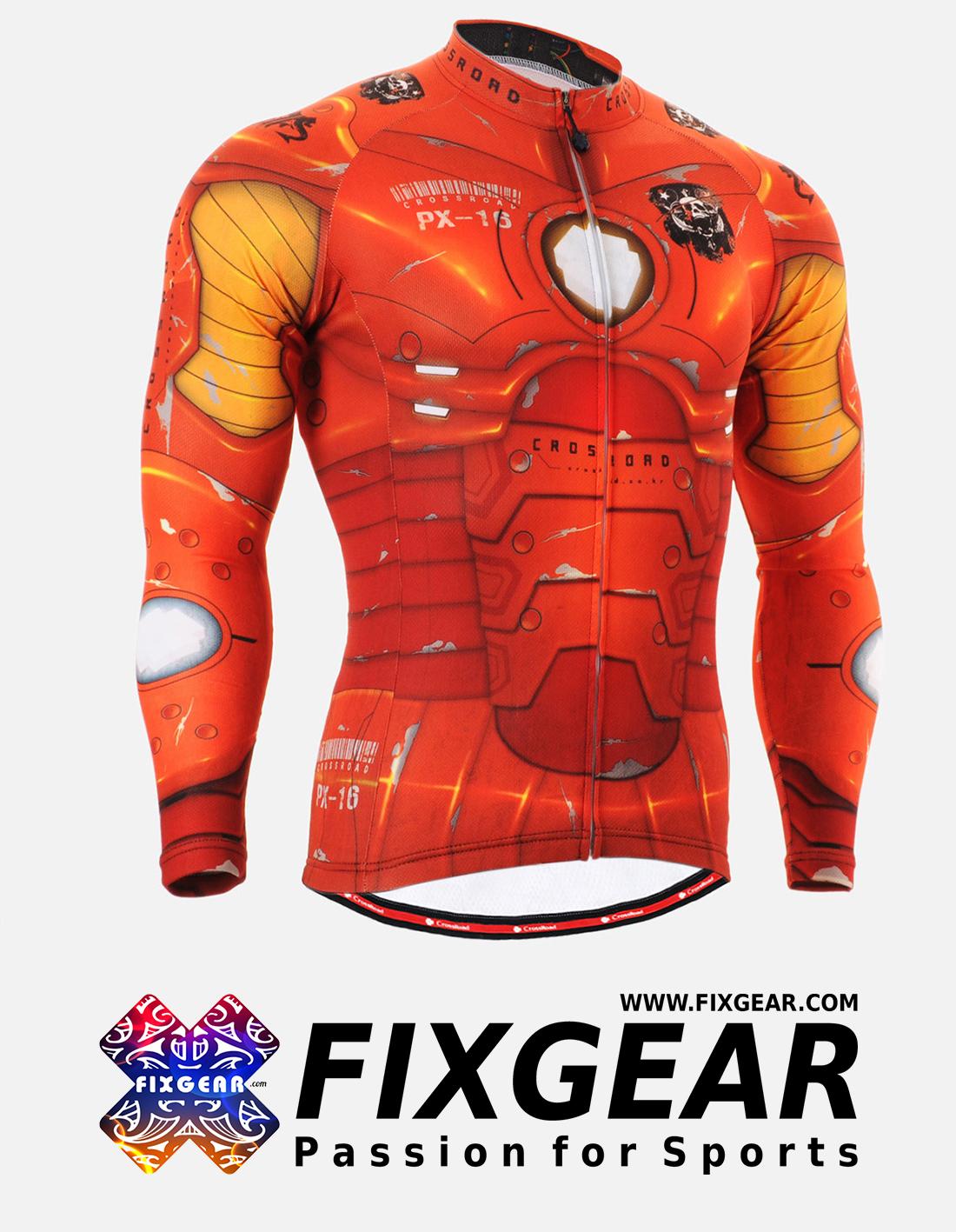 FIXGEAR CS-801 Men's Cycling  Jersey Long Sleeve