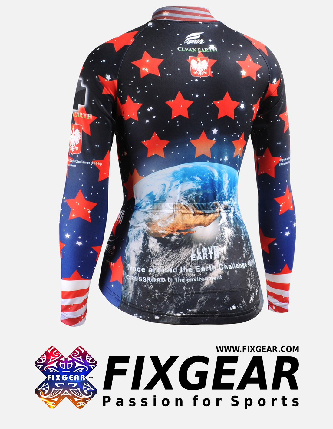 FIXGEAR CS-W1001 Women's Long Sleeve Jersey