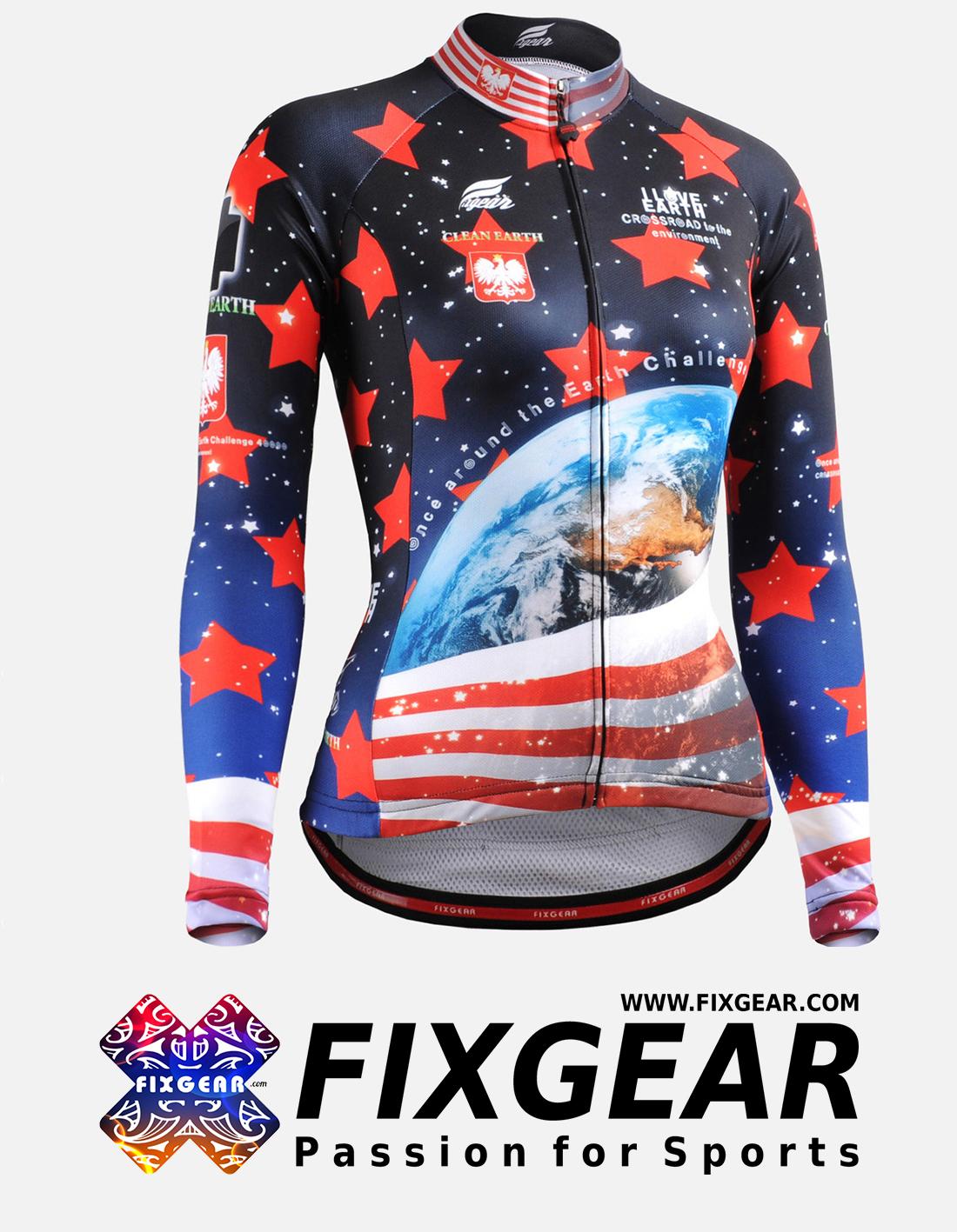 FIXGEAR CS-W1001 Women's Long Sleeve Jersey