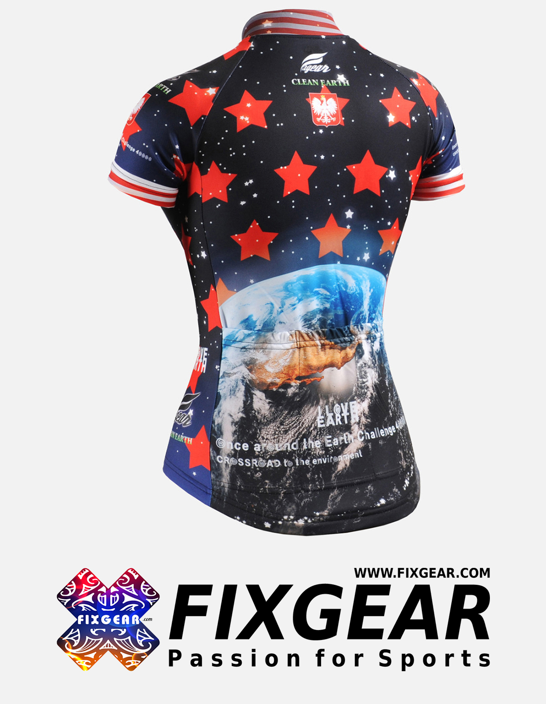 FIXGEAR CS-W1002 Women's Short Sleeve Jersey