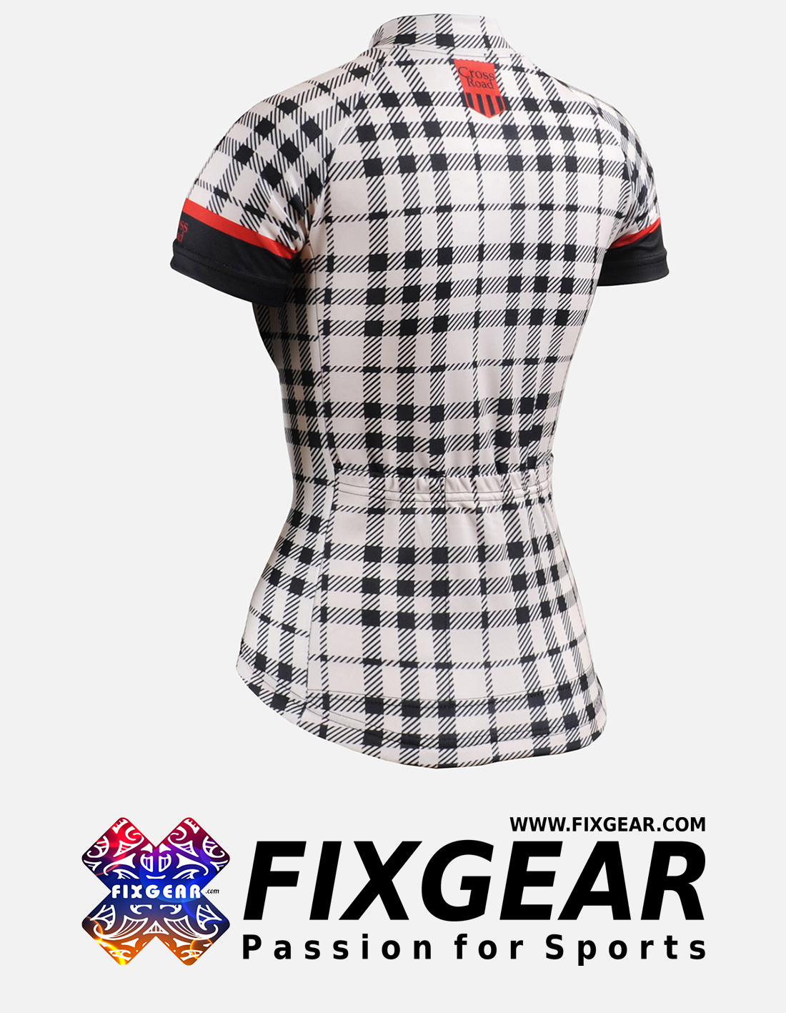 FIXGEAR CS-W102 Women's Short Sleeve Jersey