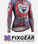 FIXGEAR CS-W1101 Women's Long Sleeve Jersey