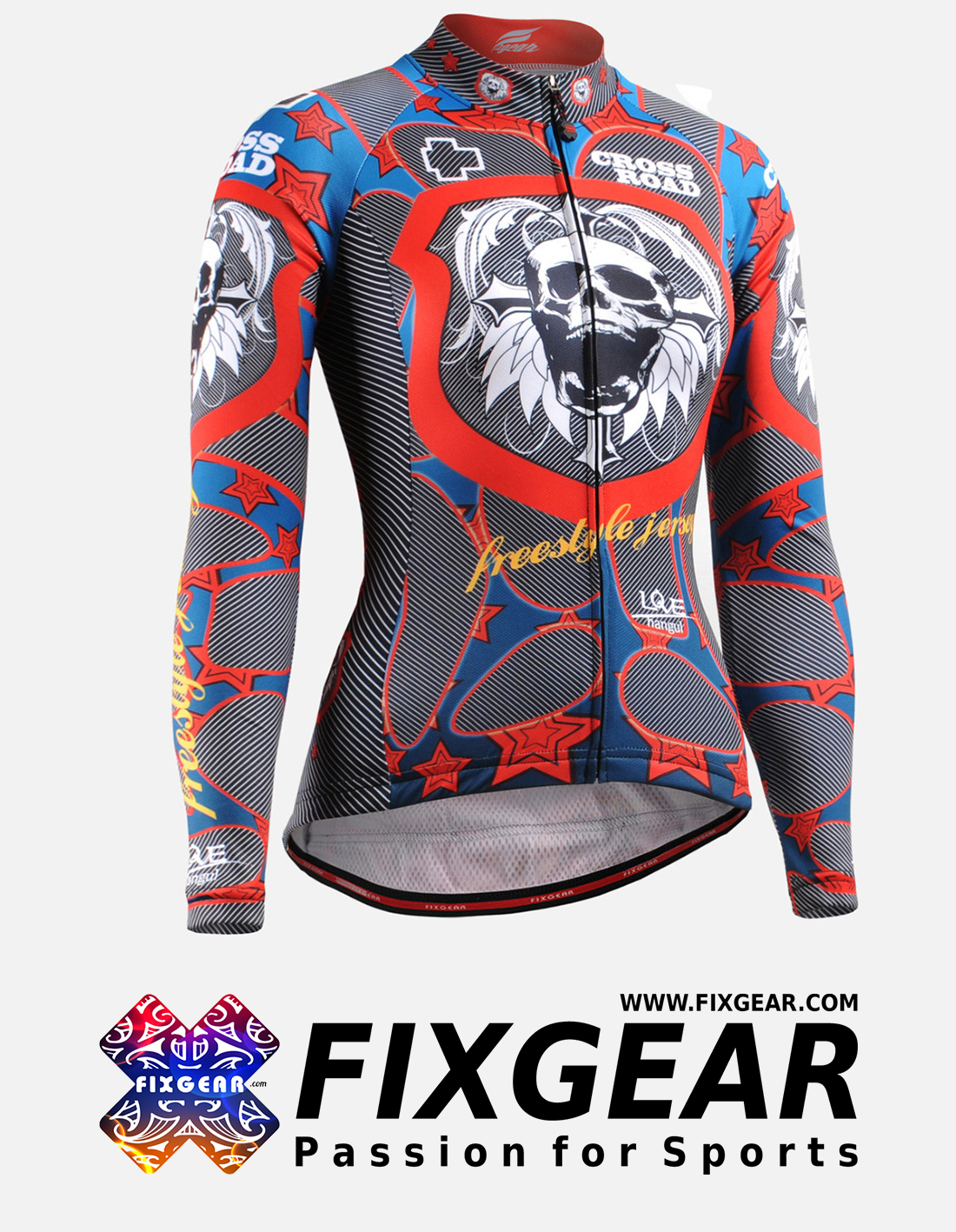 FIXGEAR CS-W1101 Women's Long Sleeve Jersey
