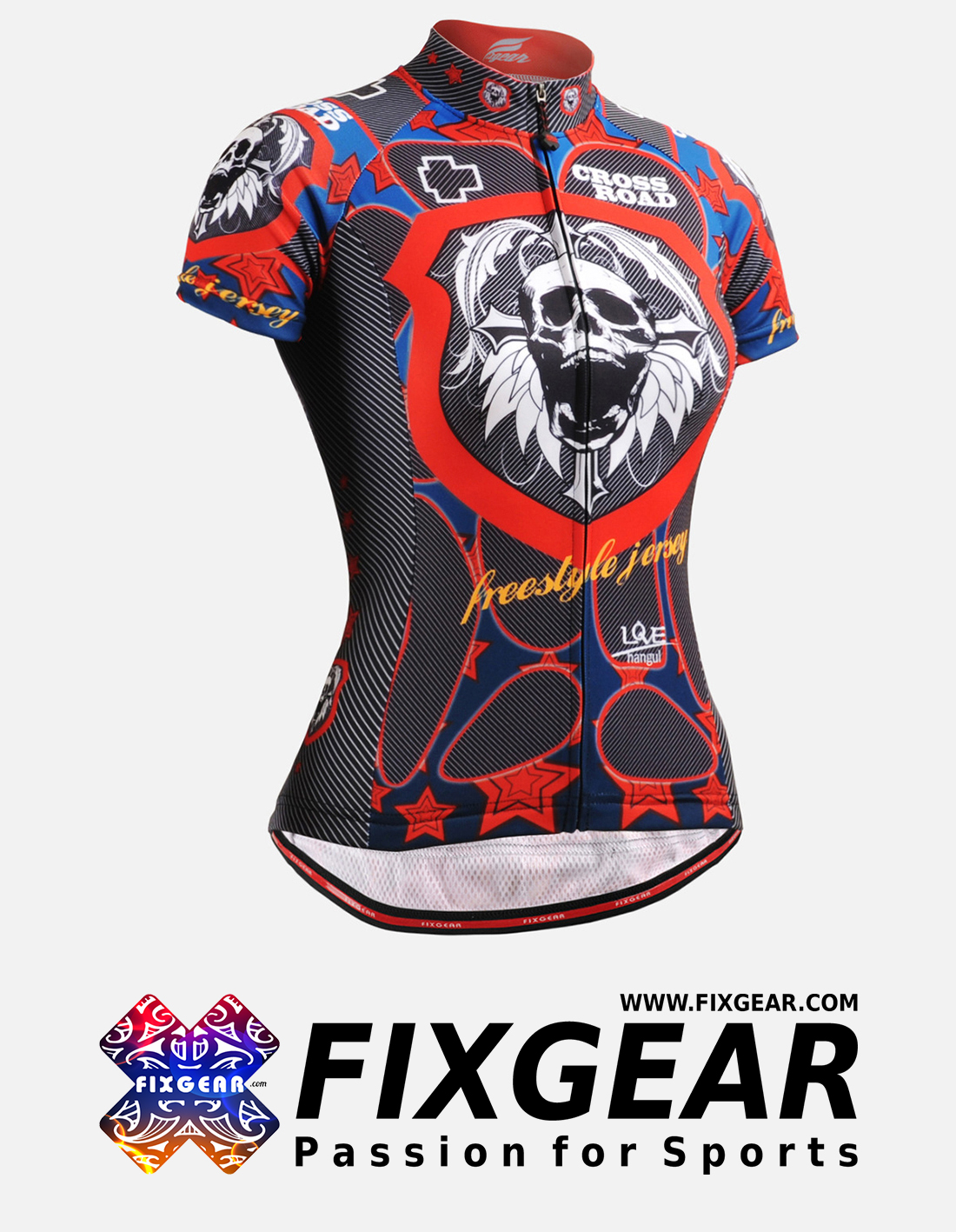 FIXGEAR CS-W1102 Women's Short Sleeve Jersey