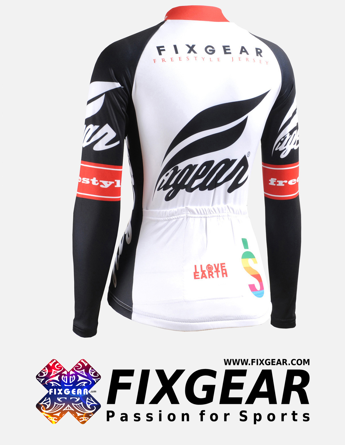 FIXGEAR CS-W1201 Women's Long Sleeve Jersey