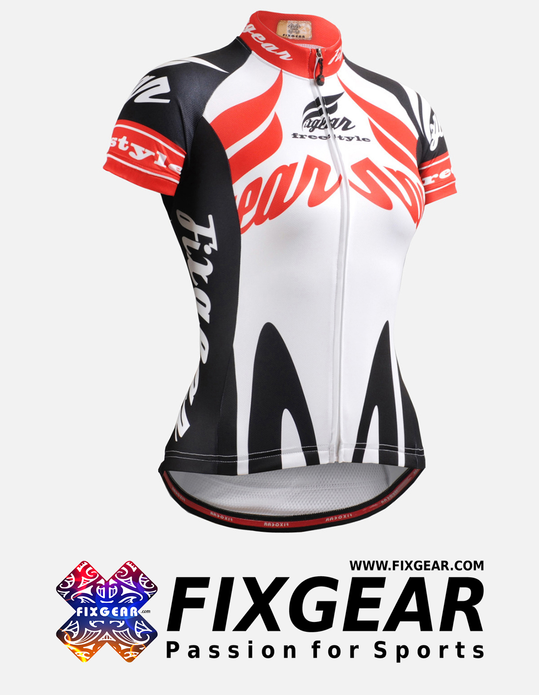 FIXGEAR CS-W1202 Women's Short Sleeve Jersey