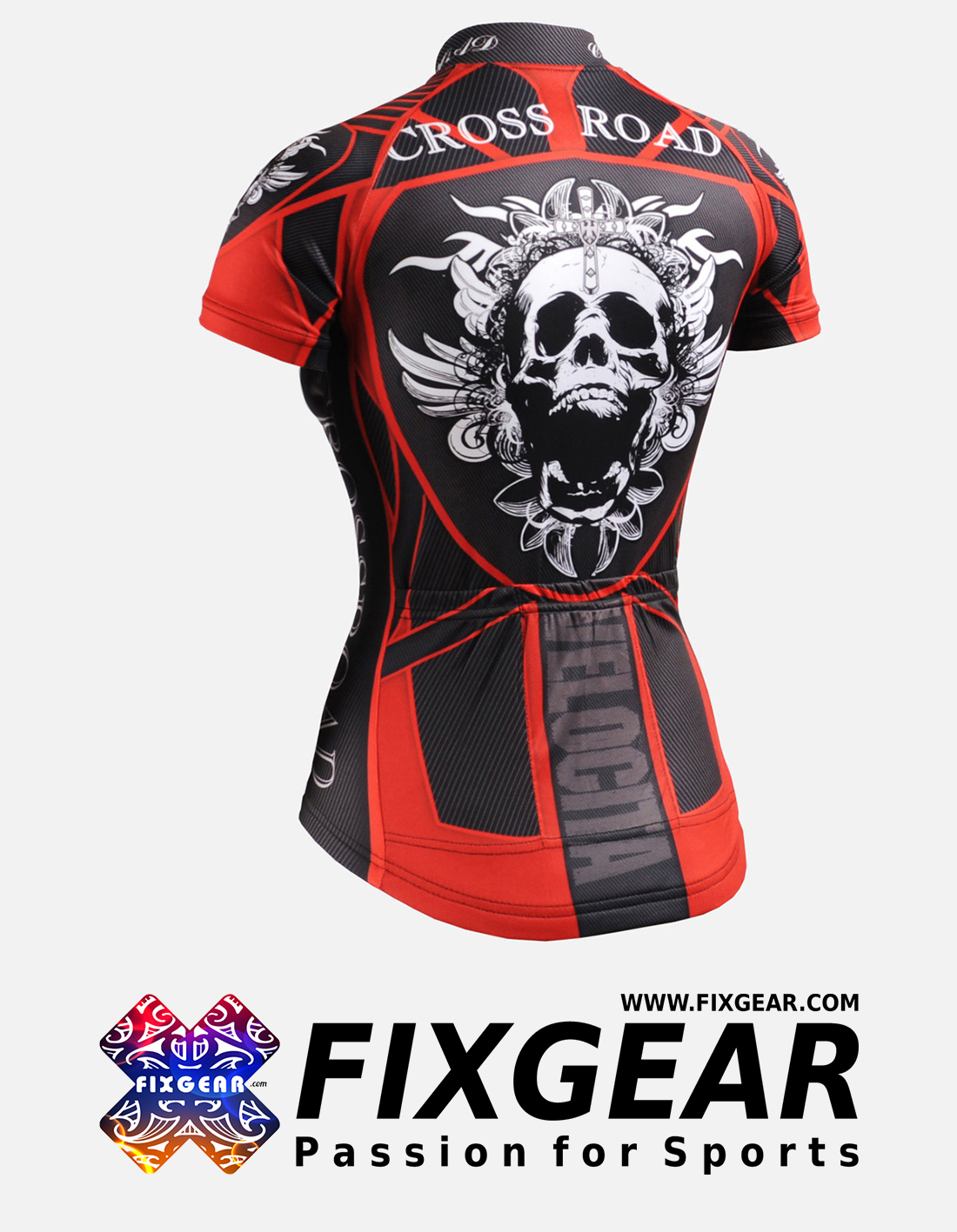 FIXGEAR CS-W1302 Women's Short Sleeve Jersey