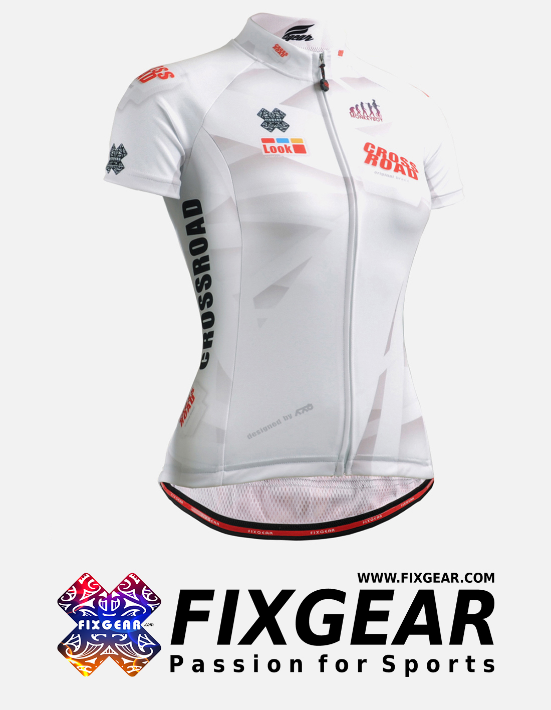FIXGEAR CS-W1402 Women's Short Sleeve Jersey