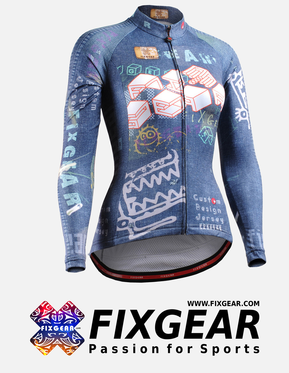 FIXGEAR CS-W1501 Women's Long Sleeve Jersey