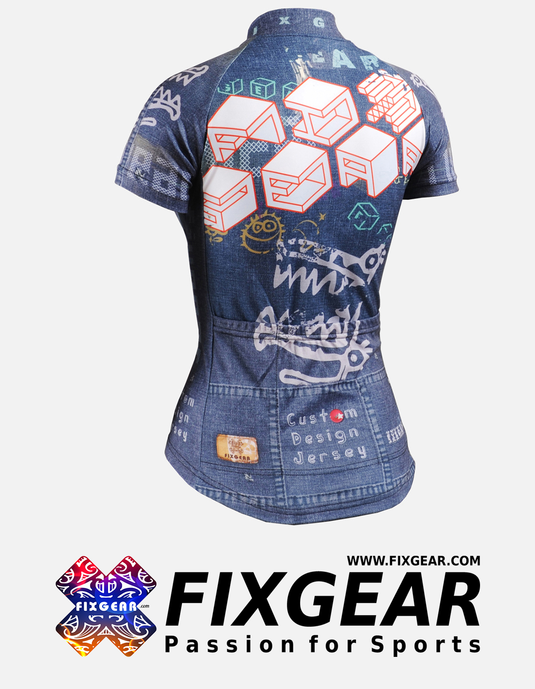 FIXGEAR CS-W1502 Women's Short Sleeve Jersey