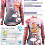 FIXGEAR CS-W1601 Women's Long Sleeve Jersey 3