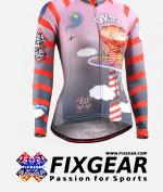 FIXGEAR CS-W1601 Women's Long Sleeve Jersey
