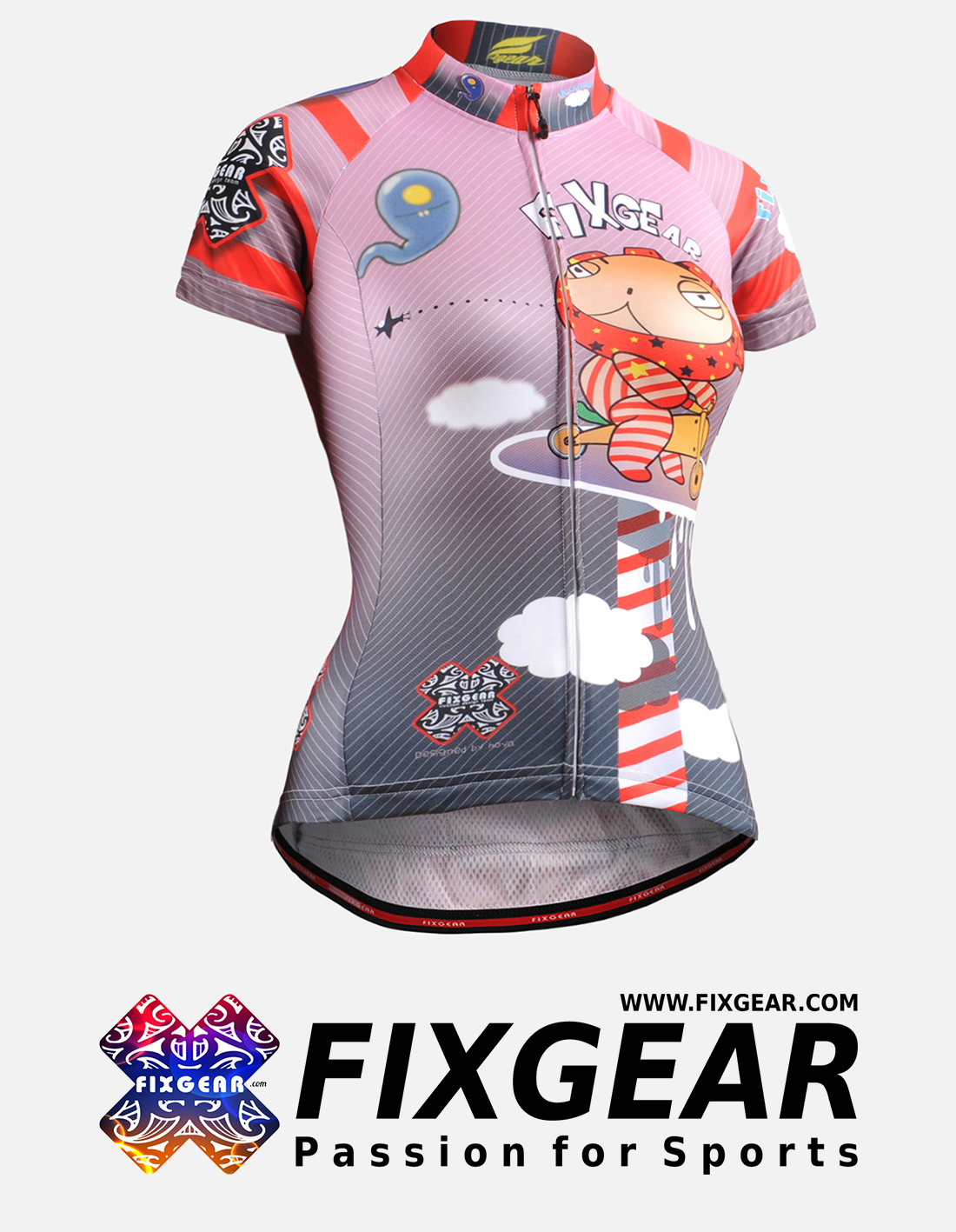 FIXGEAR CS-W1602 Women's Short Sleeve Jersey