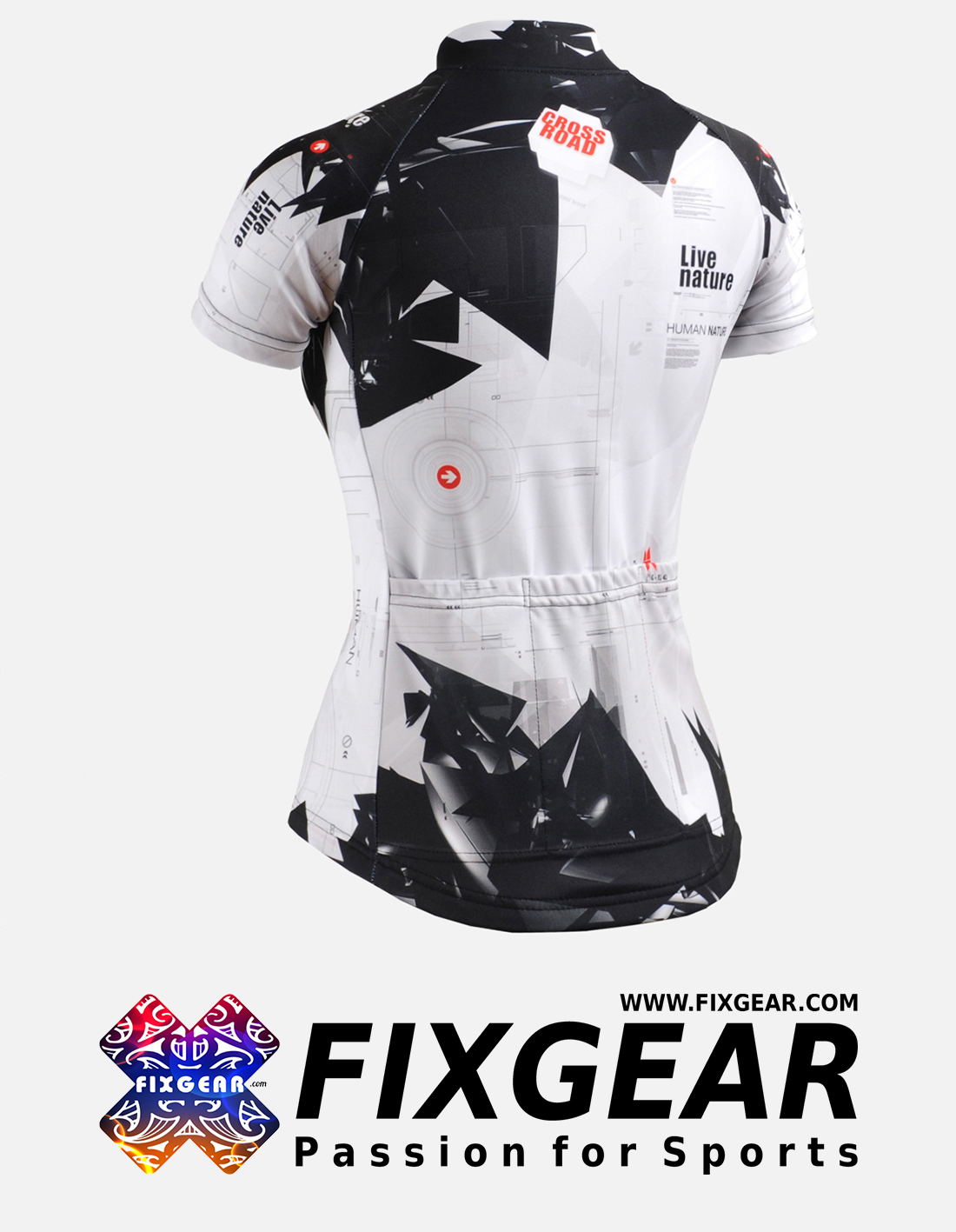 FIXGEAR CS-W1702 Women's Short Sleeve Jersey