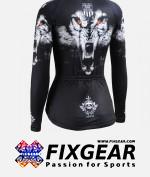 FIXGEAR CS-W1801 Women's Long Sleeve Jersey 2