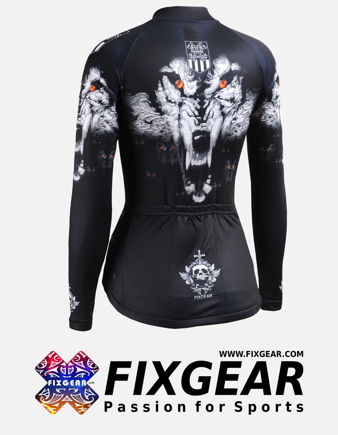 FIXGEAR CS-W1801 Women's Long Sleeve Jersey