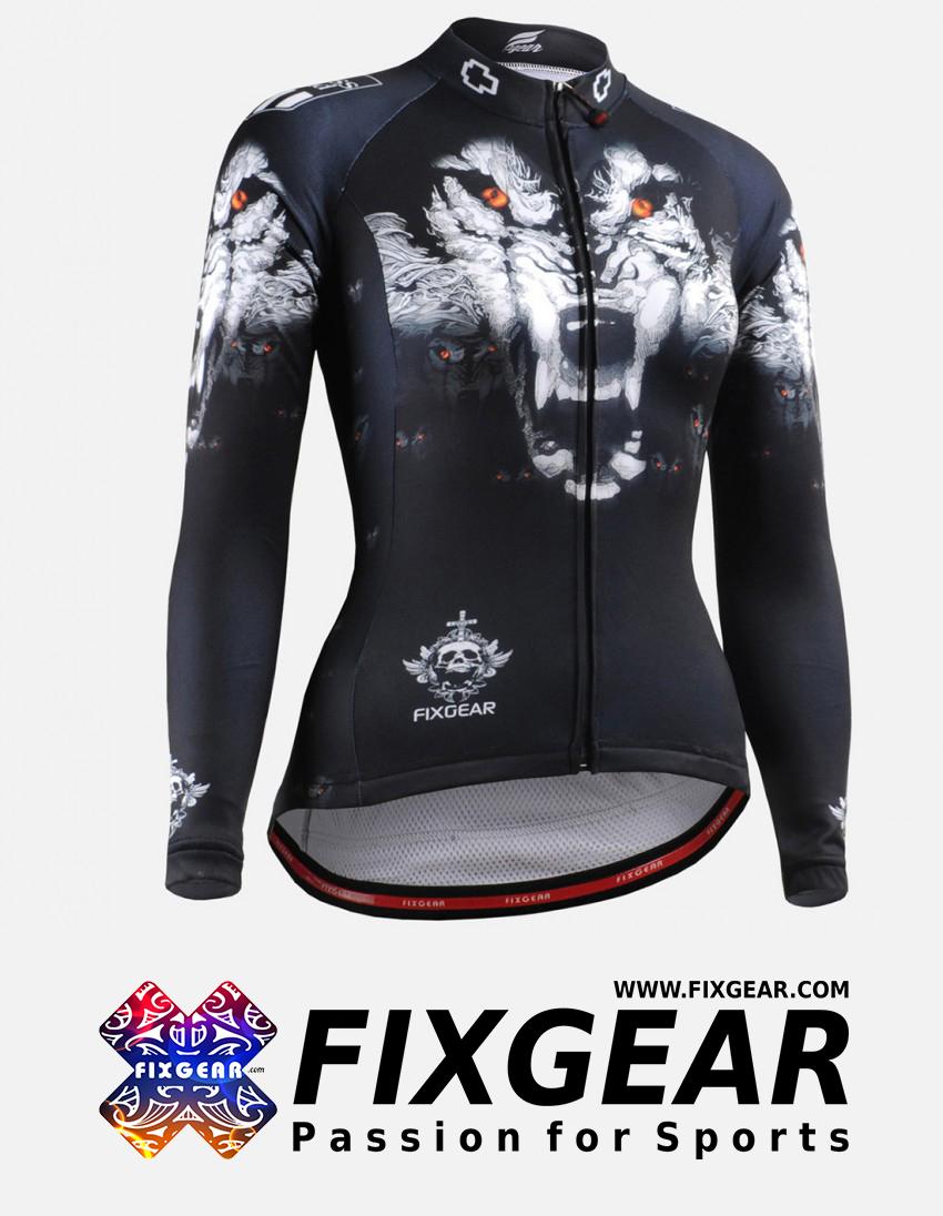FIXGEAR CS-W1801 Women's Long Sleeve Jersey 1